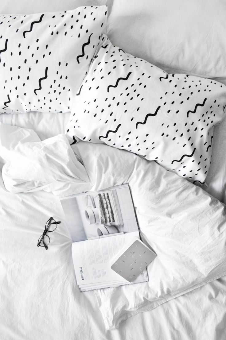 Linen Pattern Pillowcases by Zana Products - Modern Home // Sophie