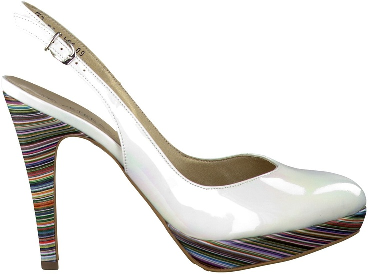 Witte Peter Kaiser pumps LOVLY