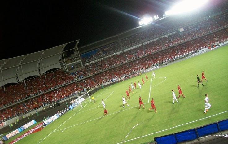 América de Cali.  Estadio: Pascual Guerrero. Cali-Colombia.