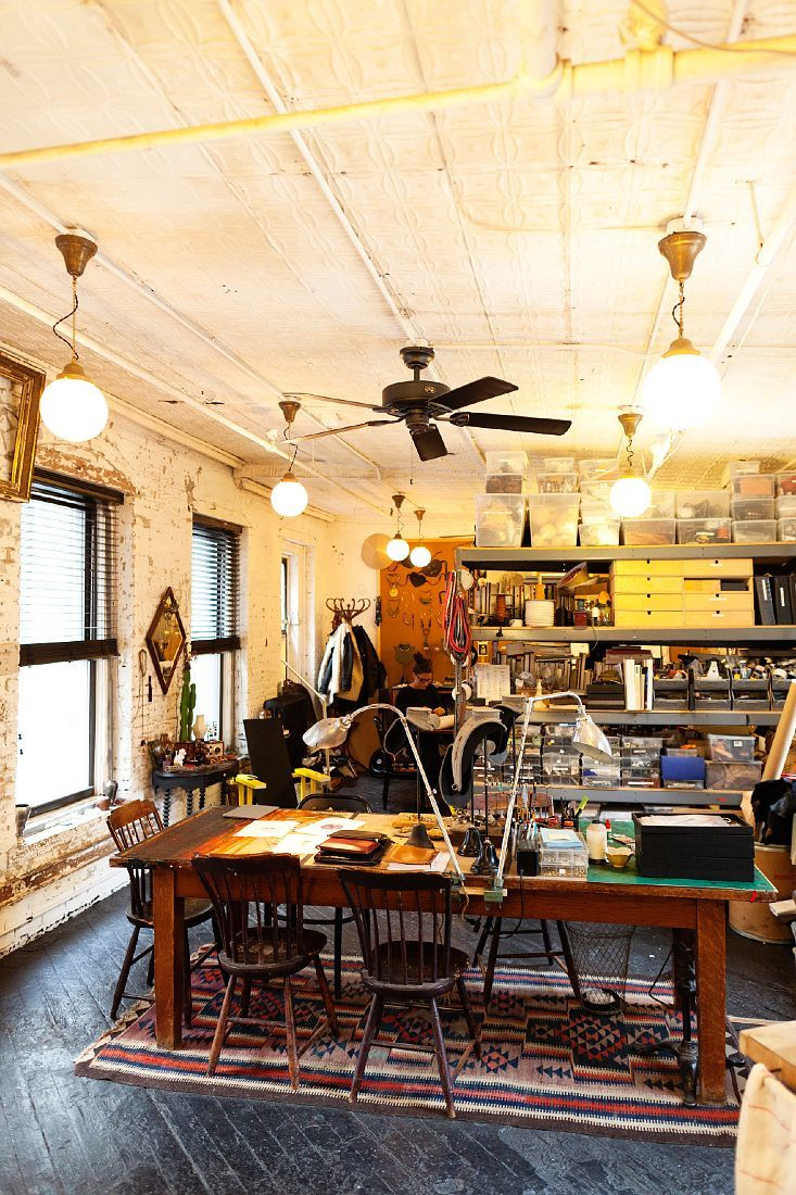 Philip Crangi - Jewelry Designer  At his Home and Studio in New York City