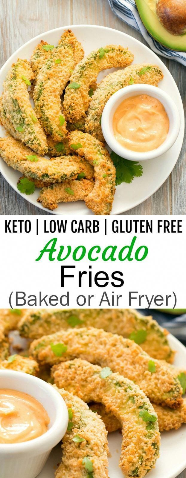 Keto Avocado Fries Recipe in 2020 Air fryer recipes
