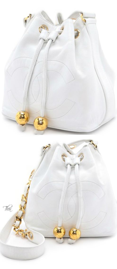 Vintage Chanel bucket bag <3<3 http://www.thailandlifestyleproperties.com http://www.trish120.wordpress.com