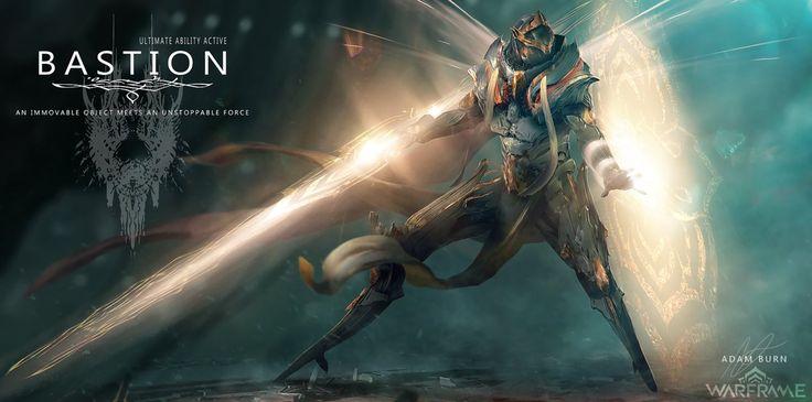 Bastion: Warframe Fan Art by AdamBurn