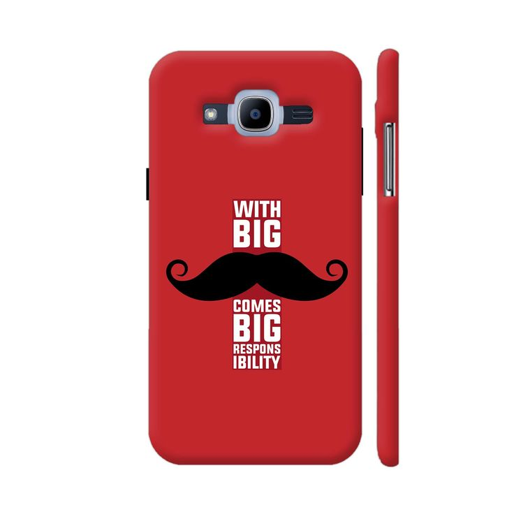 Quirky product on Colorpur With Big Moustach.... Check out http://www.colorpur.com/products/with-big-moustache-comes-big-responsibility-in-red-samsung-galaxy-j2-2016-case-artist-designer-chennai?utm_campaign=social_autopilot&utm_source=pin&utm_medium=pin