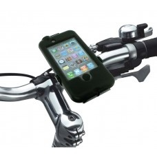 $49.95 BikeConsole All-Weather All-Terrain iPhone 4,4s bicycle mount is world's most advanced bicycle iPhone holder.   Features:   - Fully Weatherproof   - Heavy-duty stem/bar mounting bracket   - Anti-shock interior silicon lining  - Double-hinge locking mechanism   - 360-degrees rotation  - iPhone completely operable from outside:        - Touch-screen Optical membrane        - Sleep/Wake operable from outside        - Headphone jack and cable conduits        - Camera window to record the…