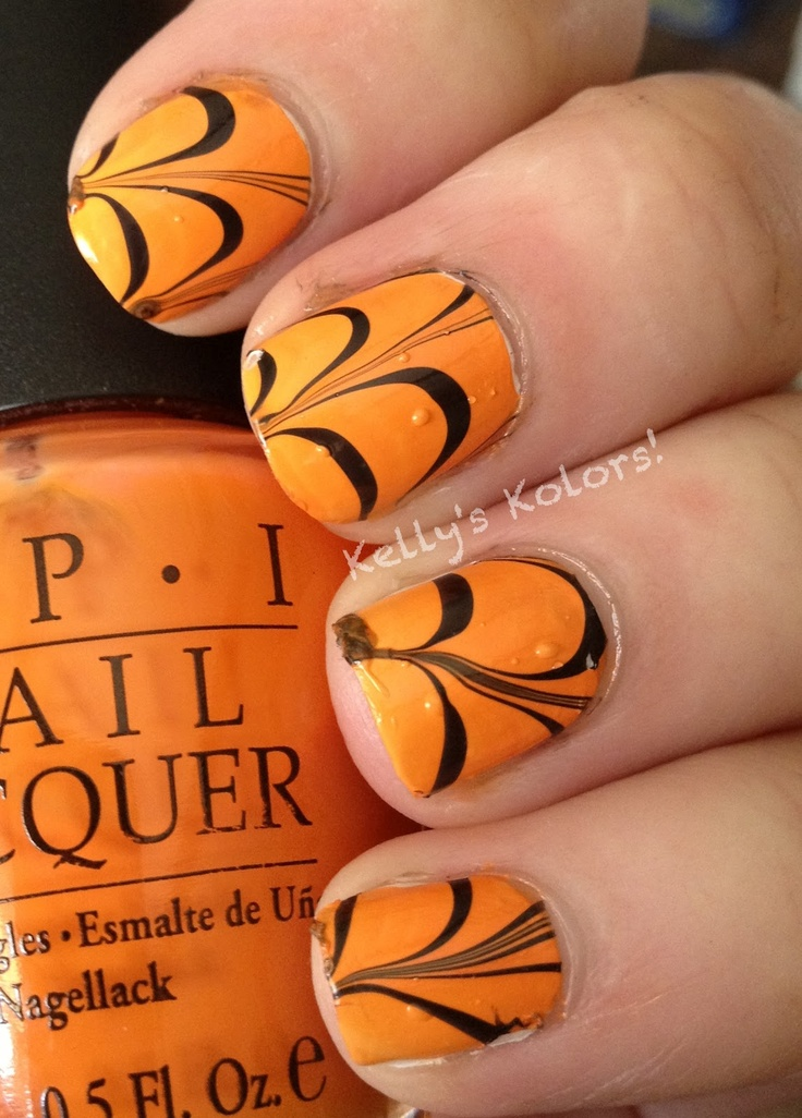 32 best Water Marble/Marble Nails images on Pinterest | Belle nails ...