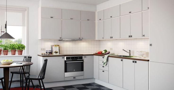 Kust Design Retro Ljusgrå: Inbyggd storstadskänsla - Electrolux Home