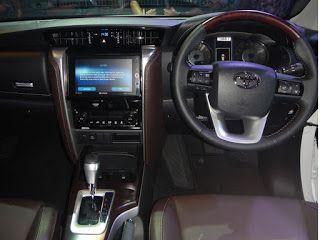 Fitur Detail Toyota Fortuner Terbaru