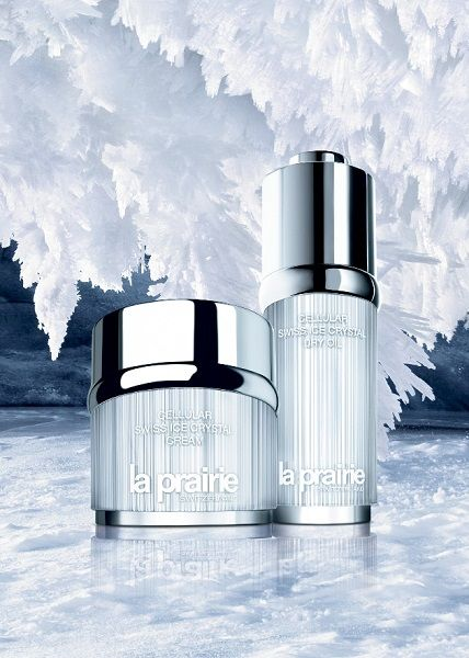swiss ice crystal collection La Prairie