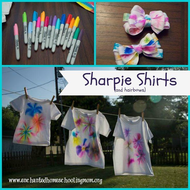 Sharpie Shirts
