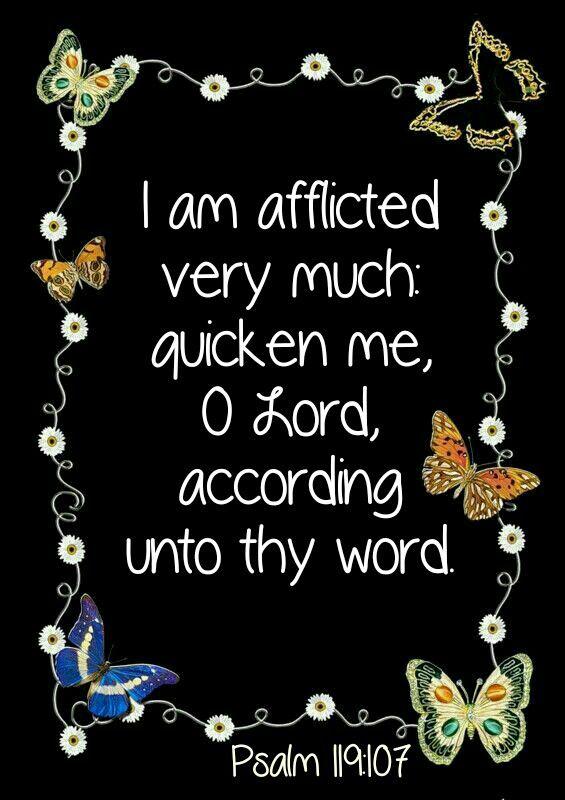Psalm 119:107 KJV
