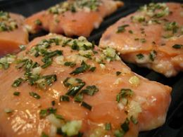 World's Best Grilled Salmon Recipe...don'tcha hate it when you can't find that recipe?! So glad I found this one again. You should pin this too! It really is the best recipe!