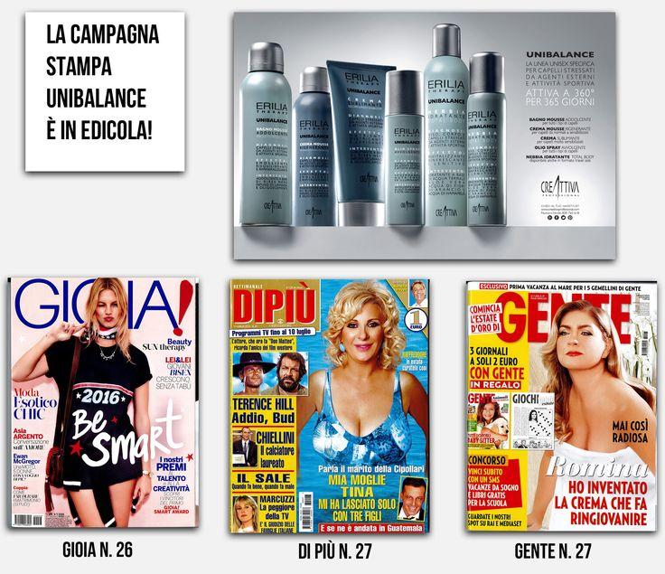 #UNIBALANCE la nuova #pubblicità in edicola sui magazine nazionali! scopri #unibalance nei saloni @Creattiva_Prof, @EVOS_italia e su www.creattivaprofessional.com
