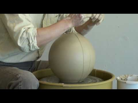 1. Throwing a Clay Pumpkin on the pottery wheel with Hsin-Chuen Lin - YouTube