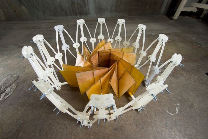 Futuristic Origami Engineering, a remarkable Origami solar panel.