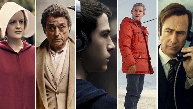 Las 5 mejores series actuales 2017