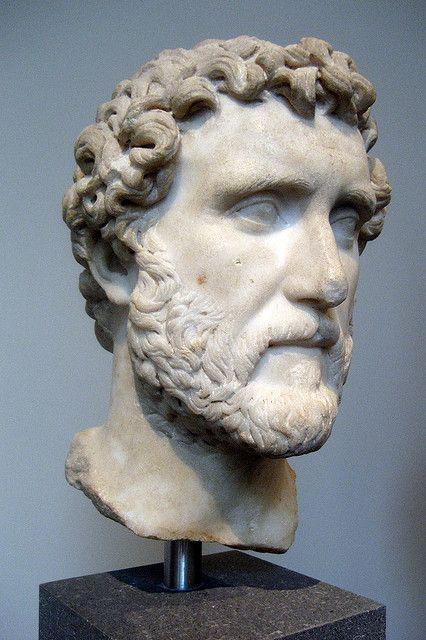 NYC - Metropolitan Museum of Art: Bust of Emperor Antoninus Pius | Roman, Antonine period, A.D. 138-161