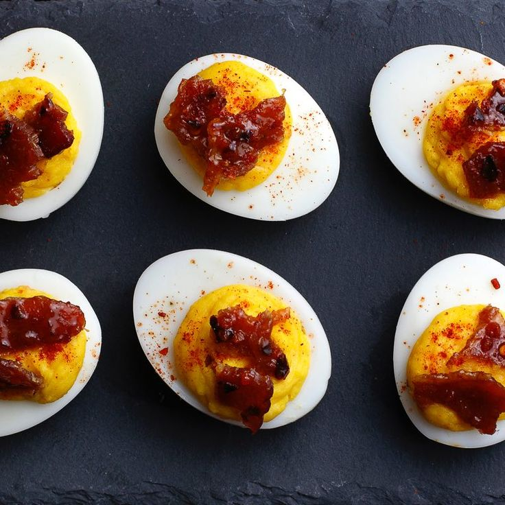 ... Candied Bacon | Recipe | Bacon, Sriracha deviled eggs and Deviled eggs