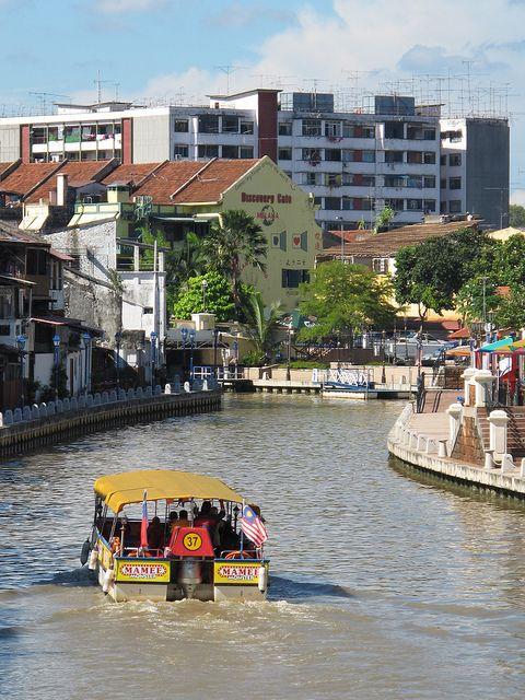 Melaka River - Melaka City, Melaka, Malaysia