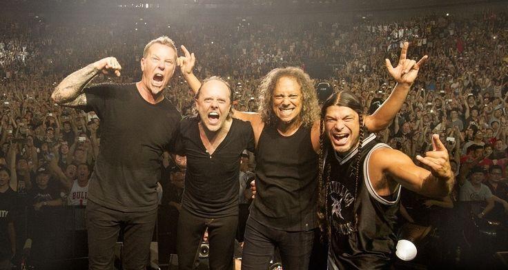Metallica tienen listo el 30% de su nuevo disco