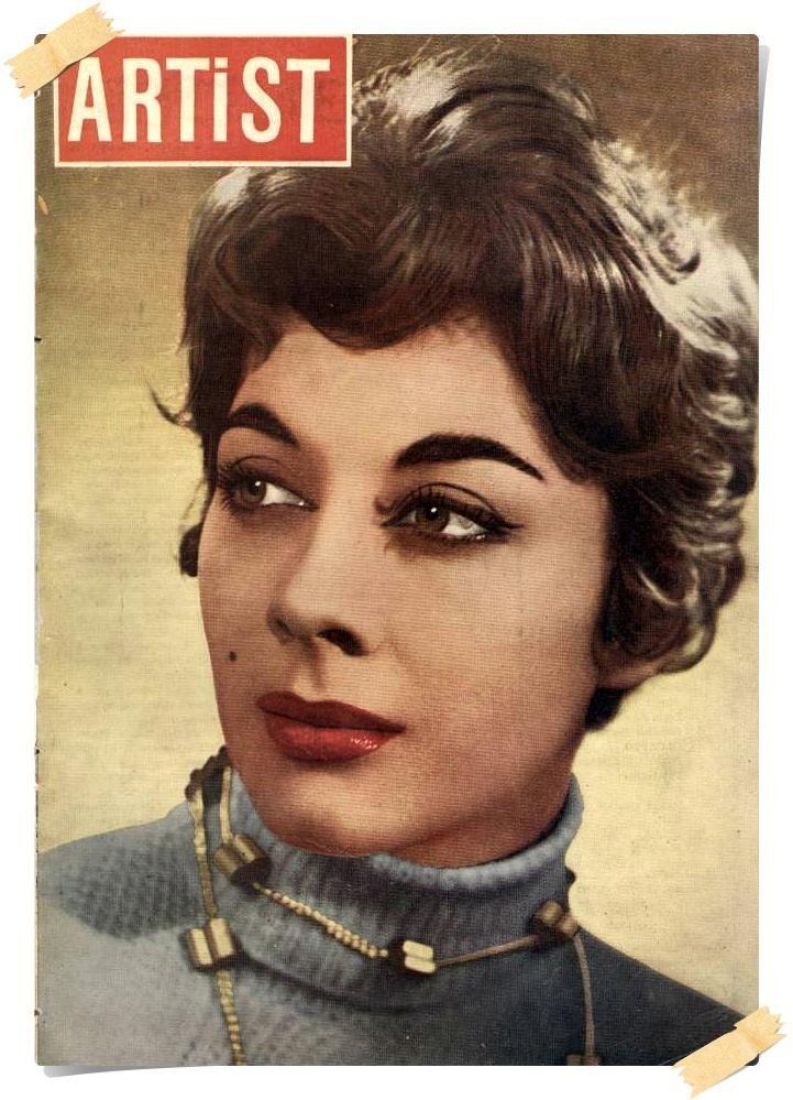 """ilk filmi 'Kamelyalı Kadın"""": karakter oyuncusu ve diva Çolpan İlhan (1960, Artist Dergisi) #istanlook"""