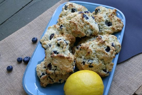 Blueberry Lemon Scones combine these two great flavors for breakfast!
