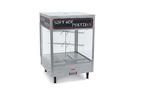 Nemco Food Equipment Revolving Pretzel Warmer, 22.25 x 22 .25 x 33.875 inch -...