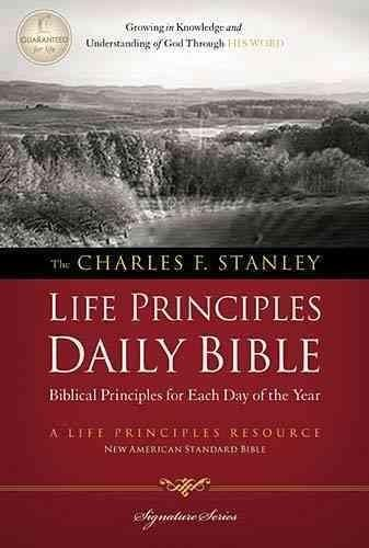 Grow in the knowledge and understanding of God through His Word every day! The Life Principles Daily Bible is arranged in 365 portions, each including devotional insights derived from Dr. Stanley's Li