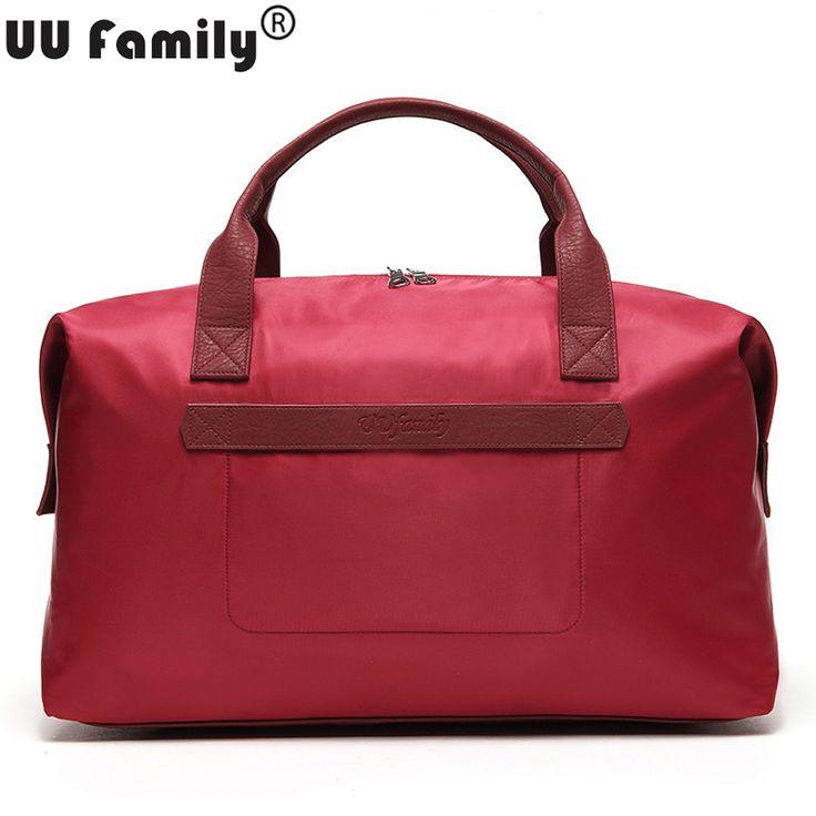 UU Family 2016 Women Travel Duffel Bag Foldable Travel Tote Men Large Capacity Overnight Bags Weekender tote Men