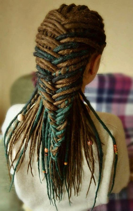 Cant wait for mine to be this long to do this!    http://jbrobinblog.com/2016/11/20/dreadlocks-journey/