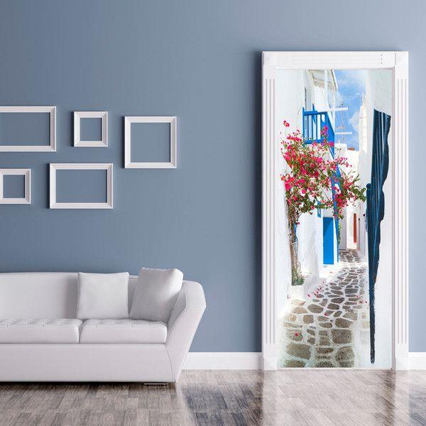 Tapeta na drzwi 100x210 droga c-B-0108-a-a - artgeist - Dekoracje #art #design #tapeta #drzwi #dekoracje