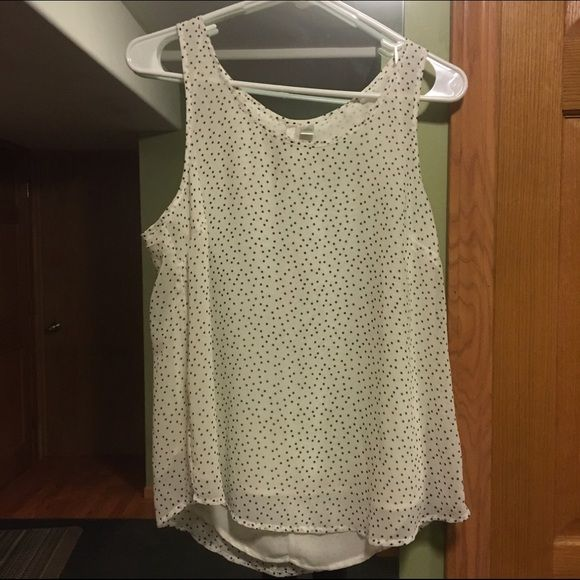 LC Lauren Conrad Blouse BRAND NEW! NEVER WORN LC Lauren Conrad blouse, just one size too big. ADORABLE BACK, I just can't take a good enough picture to give it justice ;) LC Lauren Conrad Tops Blouses