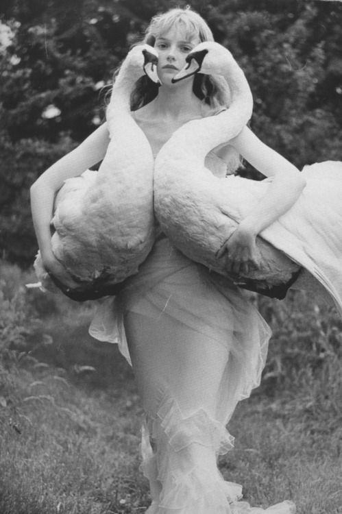 Complementing the elegant swans of a lady is always acceptable and encouraged.