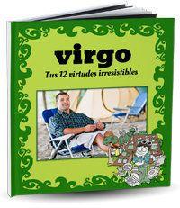 Libro personalizado del signo Virgo para hacer un regalo de cumpleaños original