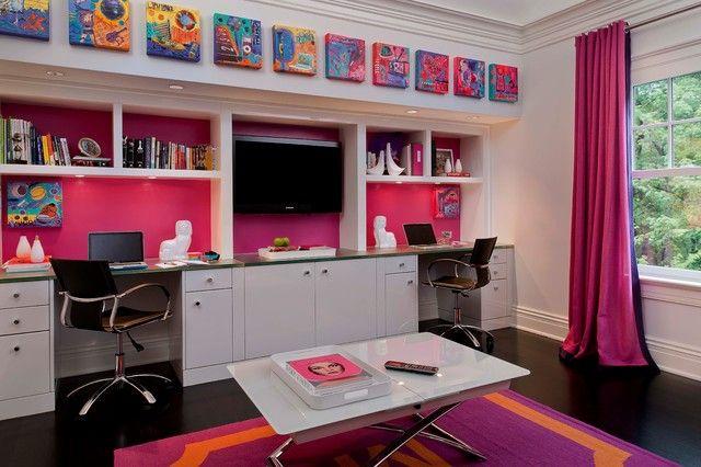Письменный стол для школьника — 35 фото идей | Дизайн интерьера ILoveID.ru