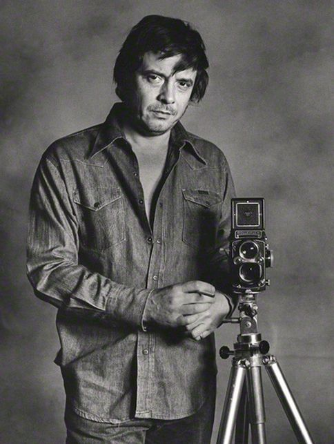 Photographer David Bailey - Famous people with Rolleiflex TLR Cameras