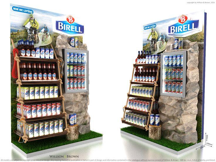 Birell Premium Display, Point of purchase