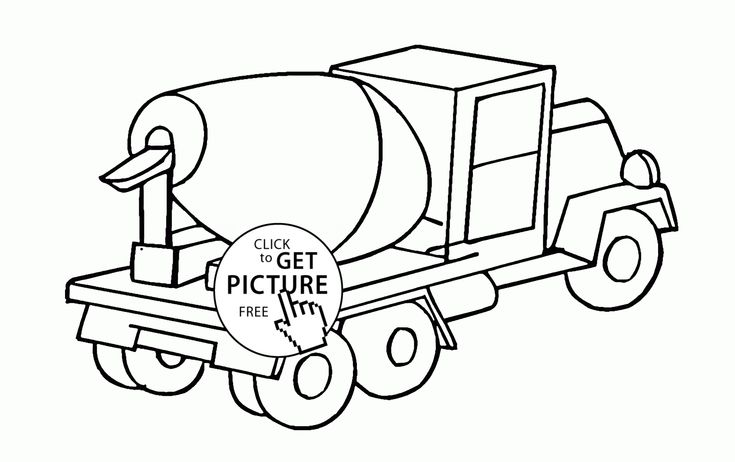 trucks and trains coloring pages-#37