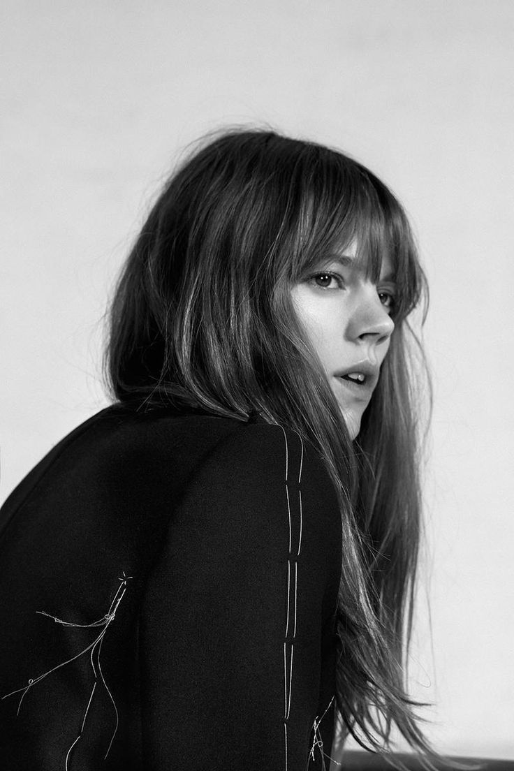 Bangs Freja Beha By Collier Schorr For The Gentlewoman Spring-Summer 2015 (2)
