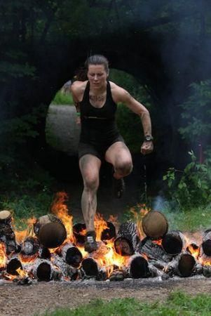 training for the warrior dash - exercise ideas and running intervals *