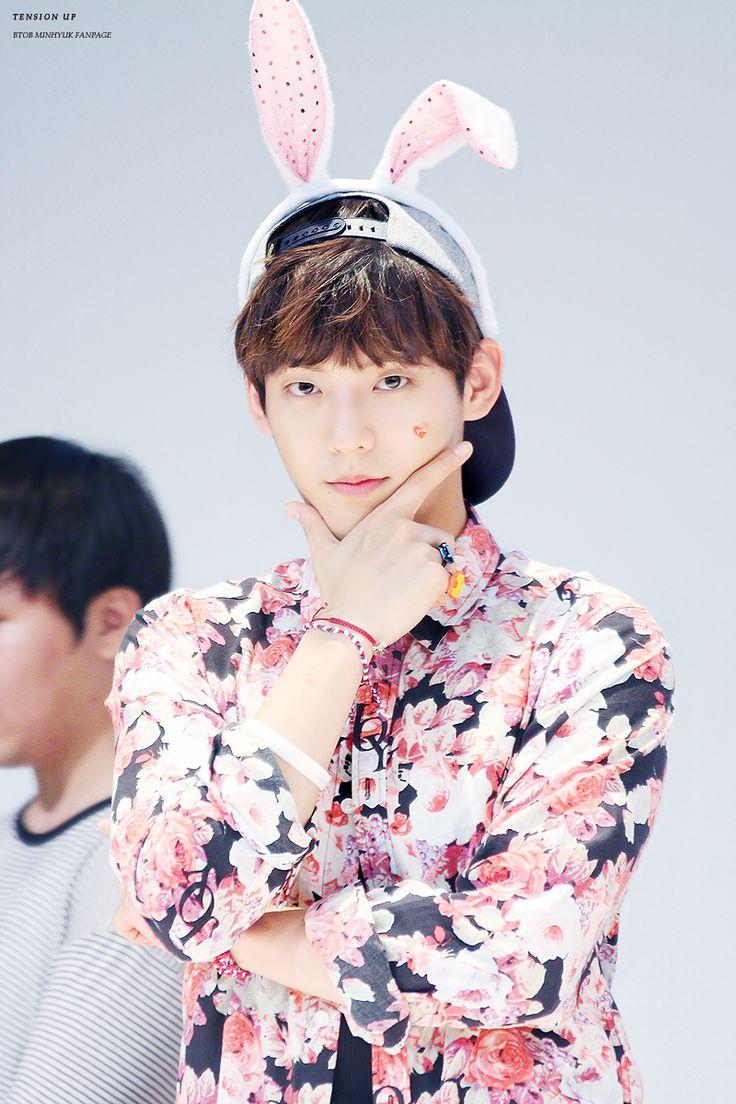 BtoB Minhyuk - Born in South Korea in 1990. #Fashion #Kpop