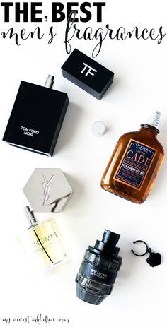 The Best Men's Fragrances featuring Tom Ford Noir, YSL L'Homme, Viktor & Rolf Spicebomb and L'Occitane Cade www.mynewestaddiction.com