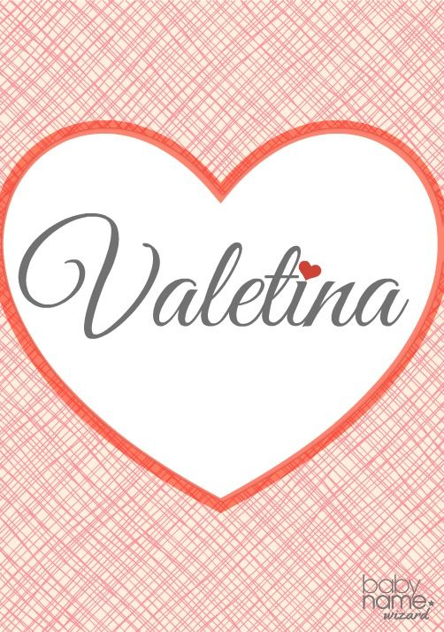 valentina name meaning origin
