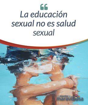 """La educación sexual no es salud sexual Estamos muy orgullosos de que en los institutos se realicen charlas sobre """"educación sexual"""". En ellas se habla a los más jóvenes de preservativos, de enfermedades de transmisión sexual (ETS), de la píldora del día después y de muchas más cuestiones que, quien más o quien menos, ya conoce."""