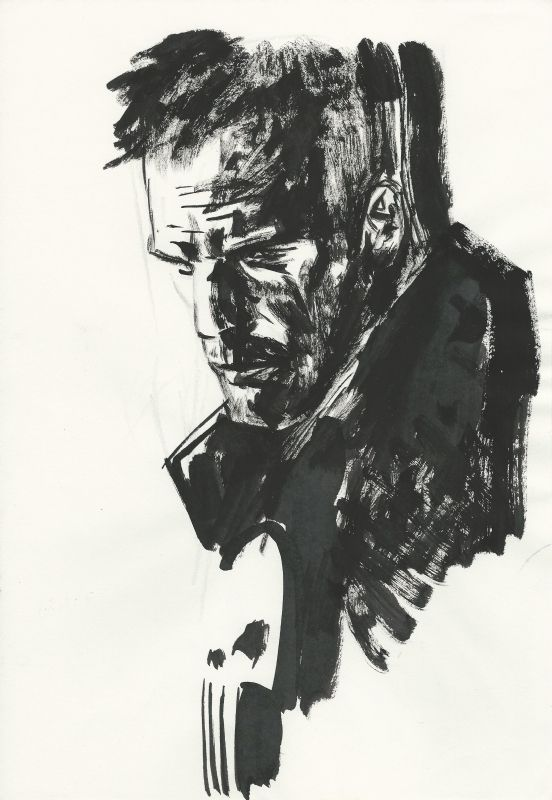 The Punisher by Alex Maleev