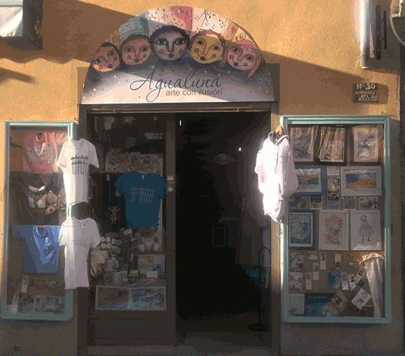 Tienda AGUALUNA en Segovia, un rincón en donde te sorprenderás