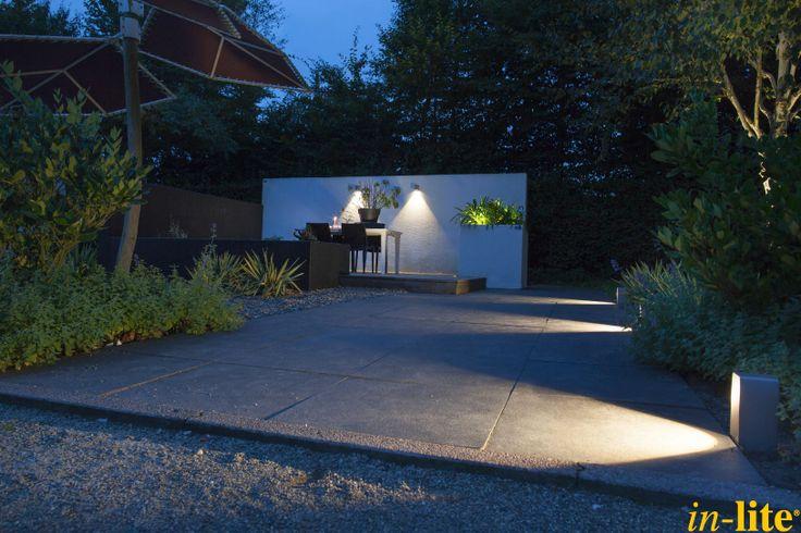 Tuinen van Appeltern   staande lamp ACE   Wandlamp ACE DOWN   12V   Buitenverlichting   Inspiratie   Outdoor lighting