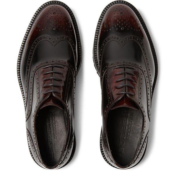 Burberry Prorsum - Mode : Les chaussures et baskets de l'automne-hiver