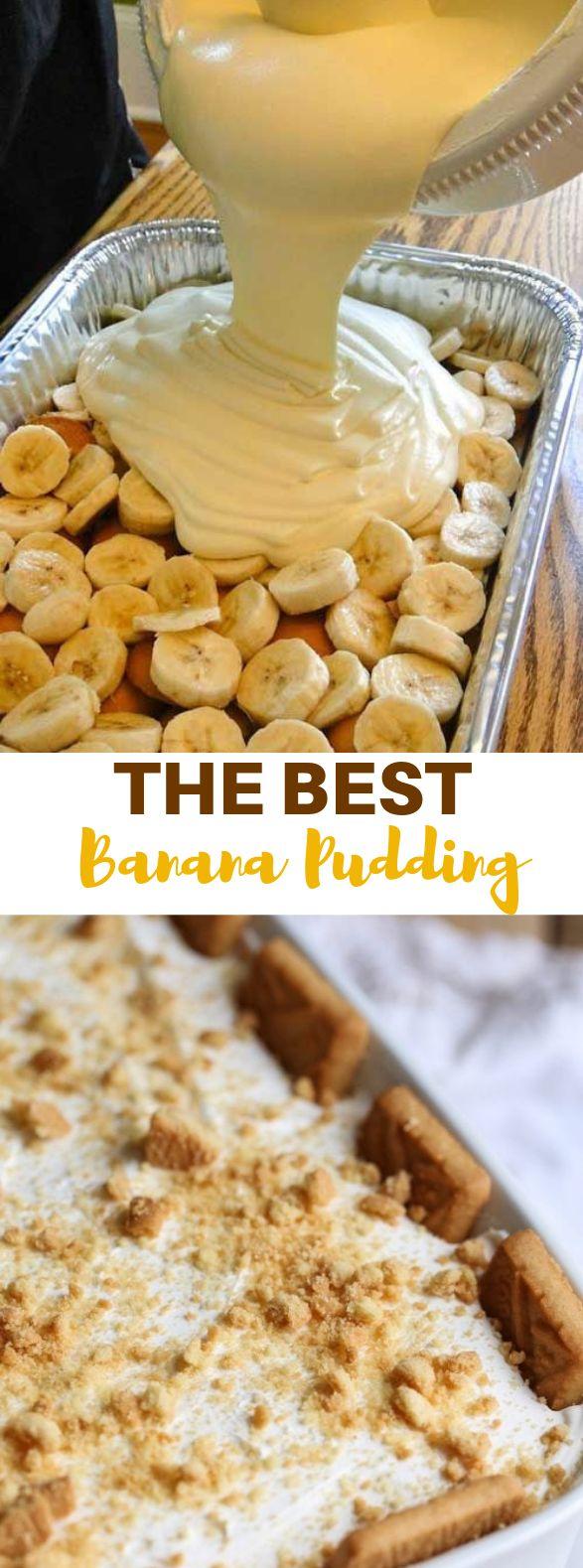The Best Banana Pudding Ever #Banana #Sweet