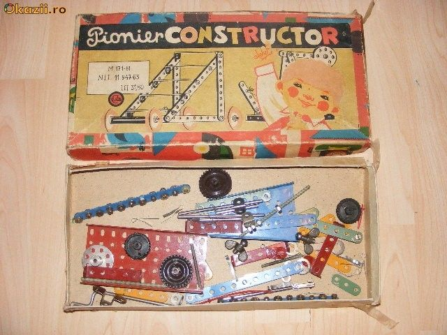 Best Meccano Sets And Toys For Kids : Best images about non meccano metal construction toys